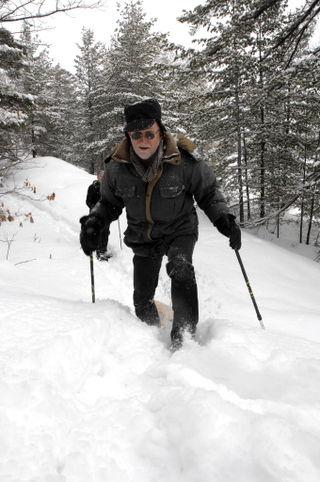 Duncan snowing