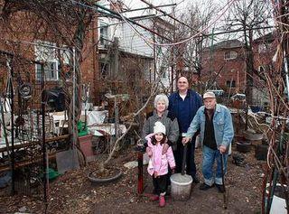 Backyard garbage