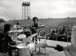 Carlos santana at woodstock