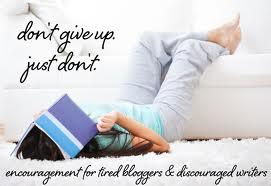 Tired blogger