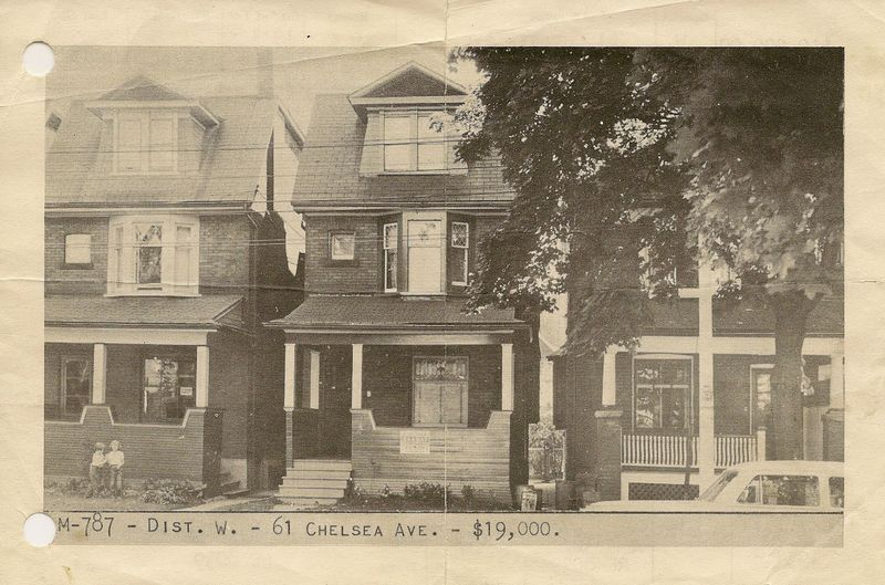 61 chelsea  real estate for sale 1954