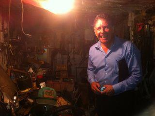 Collier in logan basement