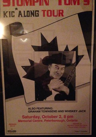 Stompin' Tom Whiskey Jack Poster