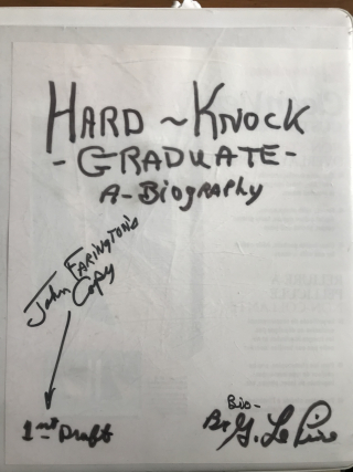 Hard knock book binder cover